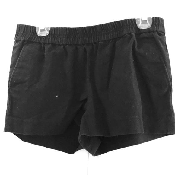 J. Crew Pants - J.Crew elastic waist navy shorts